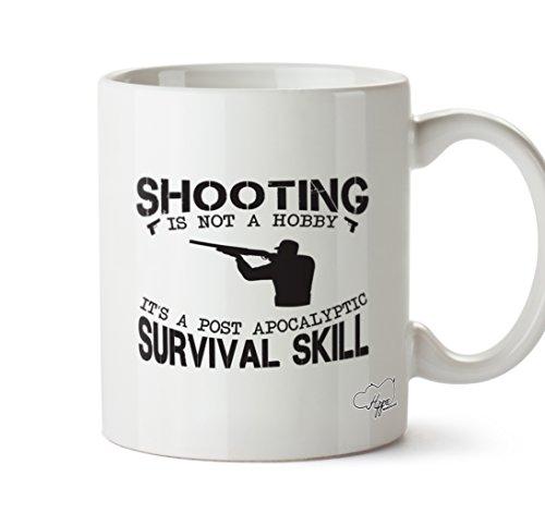 ing ist nicht ein Hobby IT 'S A Post Apokalyptischen Survival Skill 283,5Tasse, keramik, weiß, One Size (10oz) (Halloween-text-post)
