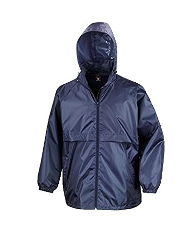 Alexandra STC-NU333NA-XXL Fold-Away Waterproof, Plain, 100% Polyurethane-Coated Polyester, 2X-Large, Navy