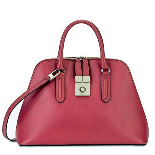 Furla Milano handbag medium red