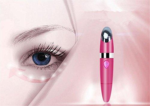 WGE Beauty Augen-Augen-Massage Zu Falten Vibration Ion Import Instrument Beauty I Strument Zerstreuen Dunkle Kreise Pouch Eye Pattern , 2 (Licht-therapie-tätowierungs-abbau)