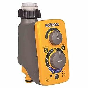 Hozelock – Programador de riego Sensor Controller Plus, de fácil programación mediante sensor de luz