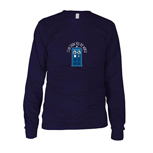 Show you the World - Herren Langarm T-Shirt, -
