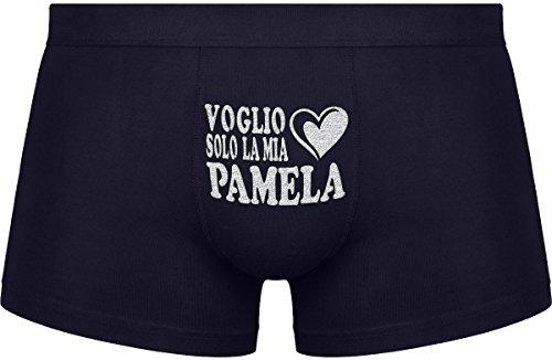 Regali originali per uomo | Voglio solo la mia Pamela | Compleanno |Festa �?Nero