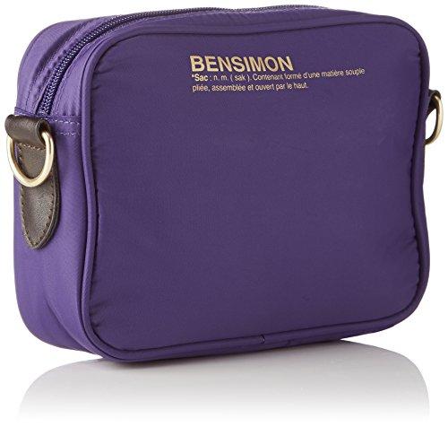 Bensimon - Xs Bag, Borsa a tracolla Donna Bleu (Bleu Violet)
