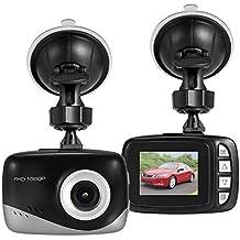 TechCode Mini Dash Kamera, Mini Hidden Dash Cam 1,5-Zoll-FHD 1080P Auto-DVR-Kamera mit Videorecorder mit Nachtsicht, WDR, G-Sensor, Parküberwachung, Bewegungserkennung, Loop-Aufnahme (W1688)