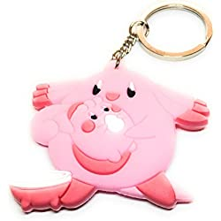 NEW POKEMON GO CHANSEY RUBBER KEYRING