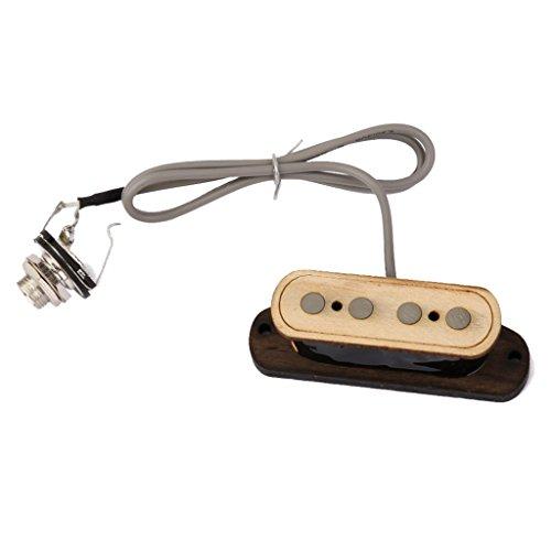 Preisvergleich Produktbild 4 String Gitarren Zigarrenschachtel Humbucker Pickup Tonabnehmer