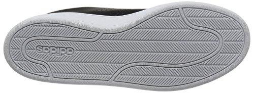 adidas Cloudfoam Advantage, Scarpe da Ginnastica Uomo Nero (Core Black/Core Black/Dgh Solid Grey)