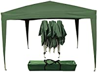 Airwave 3 x 3m Pop Up Gazebo with Canopy - Green (7 Colours Available)