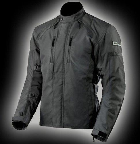 OJ - Giacca Doppio Strato 4 Stagioni 100% Impermeabile Unstoppable Man Black, Multicolore, XL