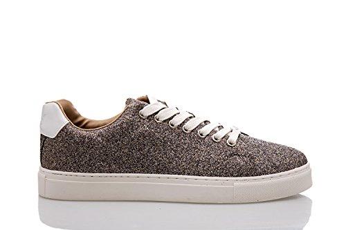 ONLY - Scarpe donna sneaker suzy glitter 41 argento