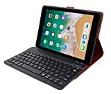 HOM Tablet Cover case with Detachable Bluetooth Keyboard Wireless for Apple iPad 9.7