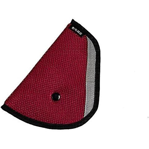 jecxep Arnés de coche para niño Tapa de seguridad Ajustador Pad Kids Cinturón Cinturón Correa para colocar Elevador de adultos niños Cinturón clips