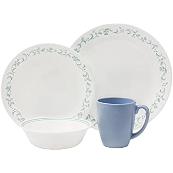 corelle geschirr set shadow iris aus vitrelle glas f r 6 personen 18 teilig splitter und. Black Bedroom Furniture Sets. Home Design Ideas