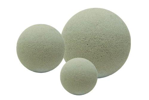 Blumensteckschaum-Kugel, trocken, 15 cm, Steckmasse-Kugeln Trockengestecke - Trockene Kugeln
