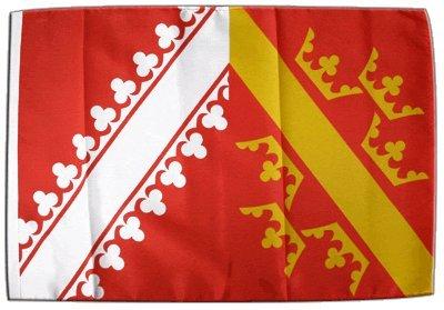 Fahne Flagge Frankreich Elsass 30 x45 cm