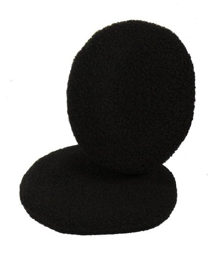 Earbags Fleece Ohrwärmer Mütze war gestern Standard Ohren Schützer, earbags fleece, Farbe schwarz, Größe M. (Coole Ski-mäntel)