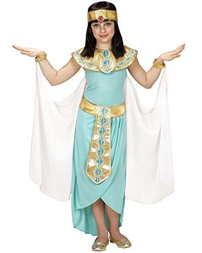 Costume Carnevale Bambina Vestito da Regina Egiziana PS 22958-11/13 Anni