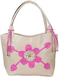 NBM Ladies Handbag, Pink | Stylish/Modern/Trendy Handbag | Classic Designs Handbag For Women And Girls | Stylish...