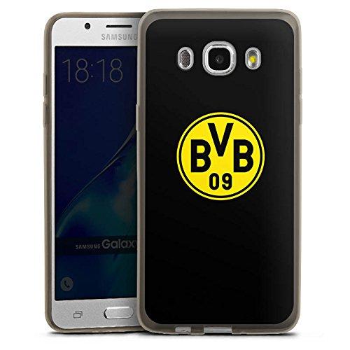 DeinDesign Samsung Galaxy J5 (2016) Slim Case transparent anthrazit Silikon Hülle Schutzhülle BVB Logo Borussia Dortmund