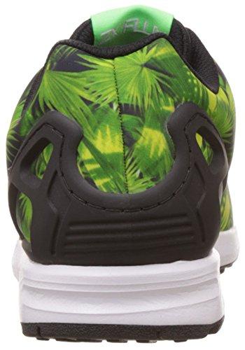 adidas Unisex-Kinder Zx Flux Sneaker Blau (Eqt Blue S16/Ftwr White/Core Black)
