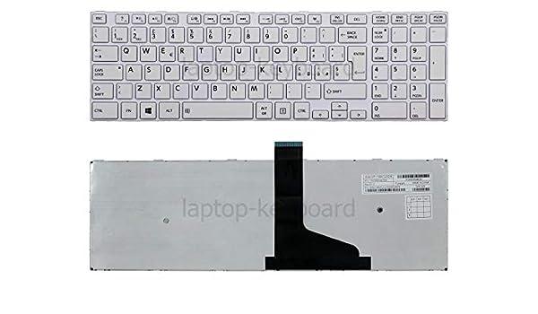 tastiperletastiere/_it OEM Italiano Bianca Tastiera Toshiba Satellite C50 C50-A C50D C50D-A C50T-A-10T C55 C55-A C55D C55D-A C55DT C55DT-A5305 C55DT-A5306 C55T C55T-A Kit di dispositivi di Servizio