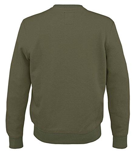 Alpha Ind. Basic Pullover Sweater Dark Green