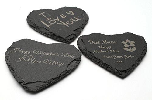iefer Herz Untersetzer Valentinstag Muttertag Geburtstag Geschenk ()