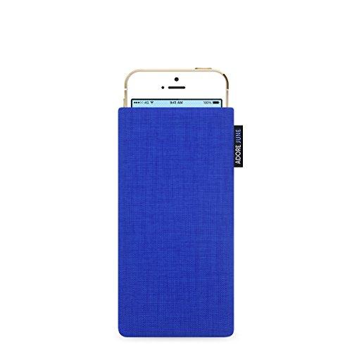 Adore June Classic Hülle für Apple iPhone 5 / 5s und iPhone SE - original Cordura - rot blau