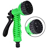 Vachan Creation Vachan Creation 7 Function High Pressure Car/Bike/Gardening Wash Nozzle Water Gun Spray (Green)