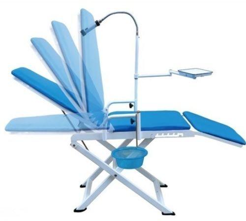 Office-stühle Dental (Tragbarer Zahnarztstuhl Kaltlicht + cuspidor Tray zahnarztgeräte Mobile Einheit)