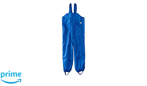 Muddy Puddles Childrens Waterproof Dungarees Royal Blue Protective Kids Overalls Rainwear PUDROYAL