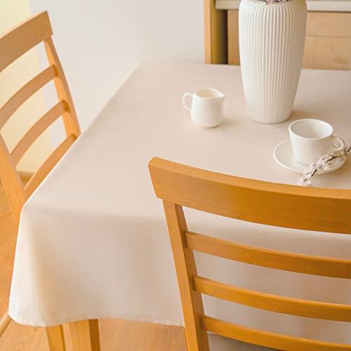 AHOLTA DESIGN Tischdecke aus Polyester, fleckenabweisend, rechteckig, quadratisch, rund, einfach zu Waschen, bügelfrei - Erntedankfest, Abendessen, Hochzeit Rectangle 52