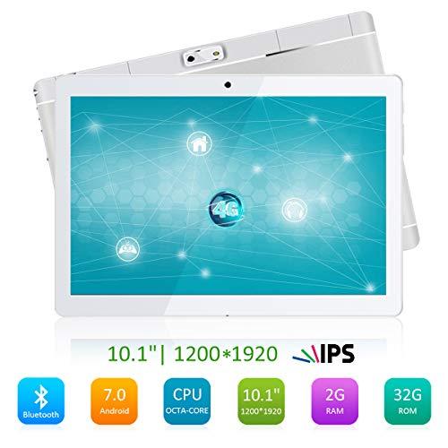 Qimaoo 10 Zoll 4G Tablet pc Tablets Android 7.0 2G RAM +32G ROM Batteriekapazität 4500mAh HD Display 1200*1920 Quad Core 1.45 GHz CPU Bluetooth WiFi WLAN