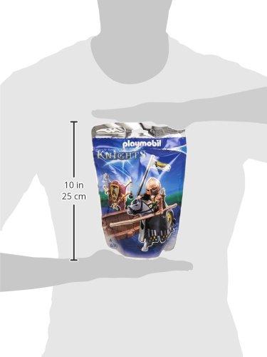 PLAYMOBIL Caballeros - Figura de Torneo de la Orden del Caballo Salvaje (5357) 4