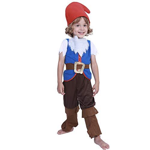 Halloween-Kostüm für Kinder, Märchen, Hexe, Fee, Winkel, Funky Punky Bones Jungen Mädchen Bühnenshow Kostüm, Polyester, style-6, (Funky Bones Kostüm)