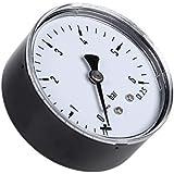 Bogji 0-6 Bar Manometer Wasser Gas Luftkompressor 1//4  NPT Seitenmontage
