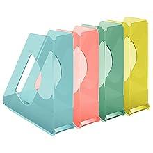 Esselte 626281 colour' Ice Set di 10 Portariviste colori assortiti