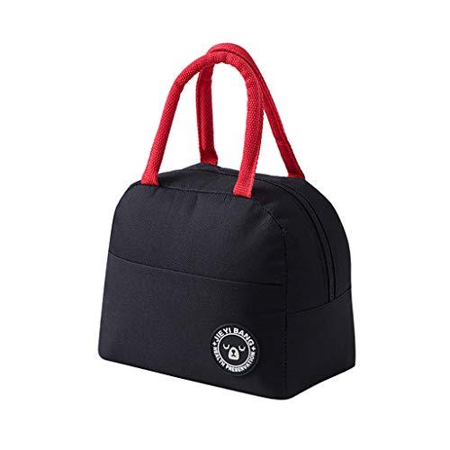 Lunchtasche Wasserdicht Leichte Picknicktasche Mittagessen Isoliertasche Thermotasche für Arbeit und Schule ()
