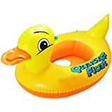 INFLATABLE BABY FLOAT SEAT BOAT BEACH CAR SUN SHADE WATER SWIMMING POOL DUCK Fusion (TM)