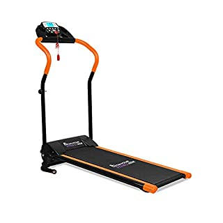 Astan Hogar Runner Fitness Pulse Basic Laufband, Unisex, Erwachsene, Schwarz/Orange, Einheitsgröße
