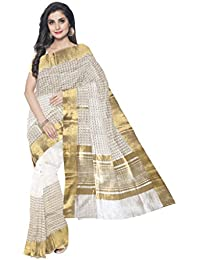 Sakhi Womens Blended Tussar Saree_ITR-0109_Multi-coloured_Free Size