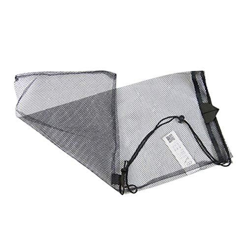 WOSOSYEYO Quick Dry Mesh Bag Tauchausrüstung Tasche Kordelzug Aufbewahrungstasche für Schnorchelausrüstung Maske Schnorchel Set Flippers Net Bag -