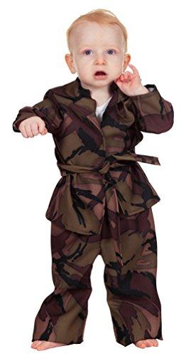 (Karneval-Klamotten Soldaten Kostüm Klein-Kinder Junge Baby Karneval Armee Jungenkostüm Größe 98)