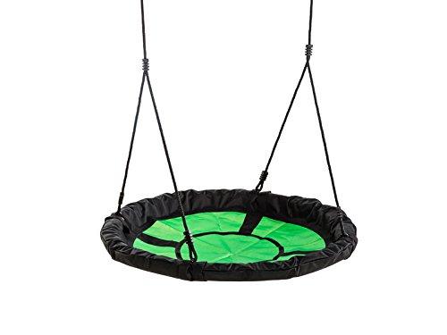 Unbekannt Kbt 5413050029702 swibee grün/Schwarze Nestschaukel, Bunt, V015007 : Enfant