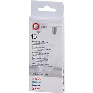 Bosch/Siemens 310575 Reinigungstabletten, 10 Tabletten, 1.6 g