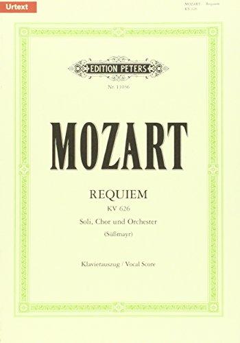 Requiem KV626 (Sussmayr) --- Chant (SATB) et Piano