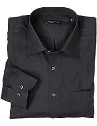 Schwarzes Hemd von Casamoda in Übergrößen bis 7XL