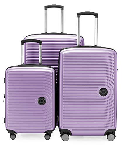 HAUPTSTADTKOFFER Mitte Set di valigie 3Er Set Flieder