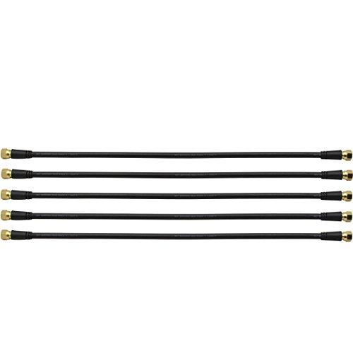 SKT SAK040SET Patch-Kabel 40 cm F-Stecker (5 Stück)